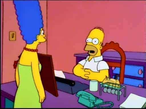 Homer Simpson's internet company