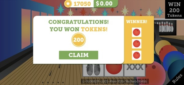 Is lucktastic real? this screenshot a winning ticket good for 200 tokens