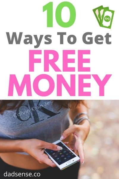 Pin image for how to get free money